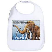 1994 Canada Woolly Mammoth Postage Stamp Bib