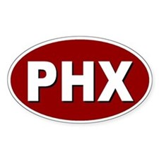 Phoenix, Arizona Oval Decal