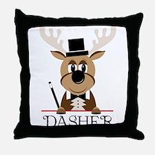 Dasher Throw Pillow