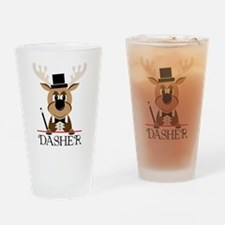 Dasher Drinking Glass