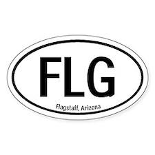Flagstaff, Arizona Oval Decal