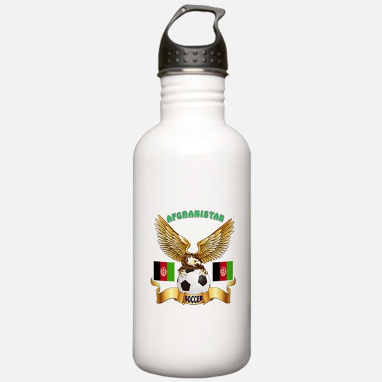 Afghanistan Football Design Sports Water Bottle