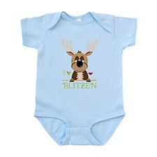 Blitzen Infant Bodysuit