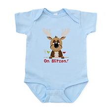 On Blitzen! Infant Bodysuit