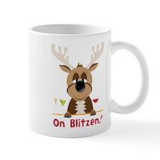 On Blitzen! Mug