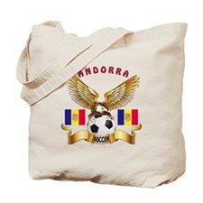 Andorra Football Design Tote Bag