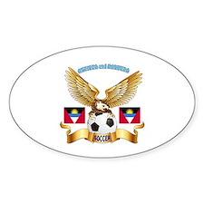Antigua and Barbuda Football Design Decal