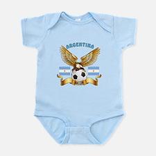 Argentina Football Design Infant Bodysuit