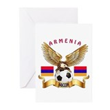 Armenian coat of arms Greeting Cards
