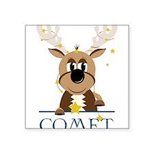 """Comet Square Sticker 3"""" x 3"""""""