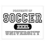 Soccer University Small Poster