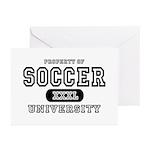 Soccer University Greeting Cards (Pk of 10)