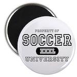 Soccer University Magnet
