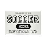 Soccer University Rectangle Magnet