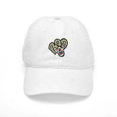 Ghost Baseball Cap