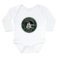 Molon Labe Long Sleeve Infant Bodysuit