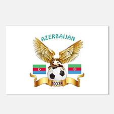 Azerbaijan Football Design Postcards (Package of 8