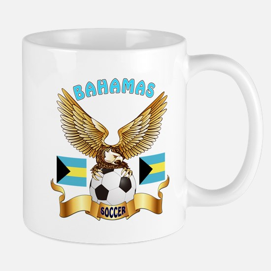 Bahamas Football Design Mug