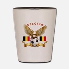 Belgium Football Design Shot Glass