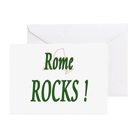 Rome Rocks ! Greeting Cards (Pk of 10)