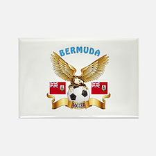 Bermuda Football Design Rectangle Magnet