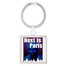 Next is Paris Square Keychain