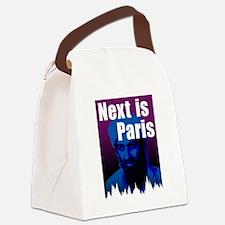 Next is Paris Canvas Lunch Bag