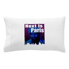 Next is Paris Pillow Case