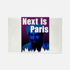Next is Paris Rectangle Magnet