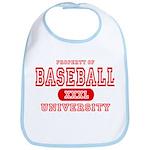 Baseball University Bib