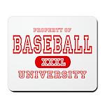 Baseball University Mousepad