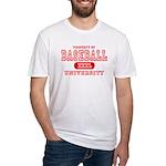 Baseball University Fitted T-Shirt