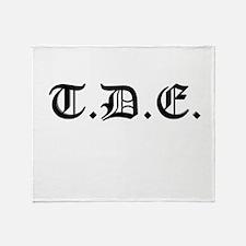 TDE Throw Blanket