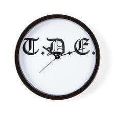 TDE Wall Clock