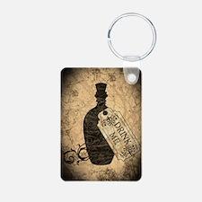 Drink Me Bottle Worn Keychains