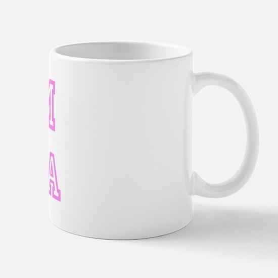 Pink team Krista Mug