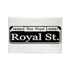 Royal Street New Orleans Rectangle Magnet