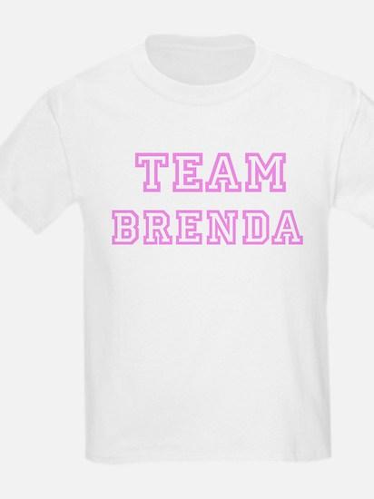 Pink team Brenda Kids T-Shirt