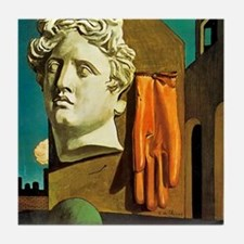 Giorgio de Chirico Love Song Tile Coaster