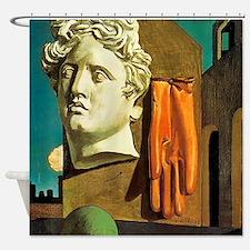 Giorgio de Chirico Love Song Shower Curtain