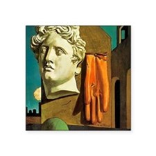 "Giorgio de Chirico Love Song Square Sticker 3"" x 3"