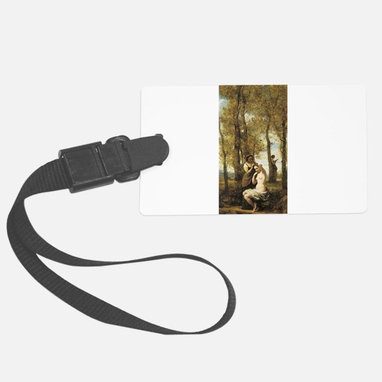 Jean-Baptiste-Camille Corot The Toilette Luggage Tag