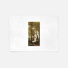 Jean-Baptiste-Camille Corot The Toilette 5'x7'Area