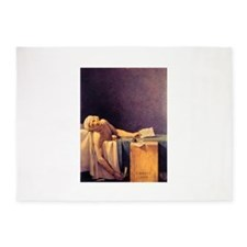 Jacques-Louis David Death Of Marat 5'x7'Area Rug