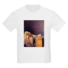 Jacques-Louis David Death Of Marat T-Shirt