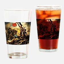 Eugene Delacroix Liberty Drinking Glass