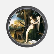 Dosso Dossi Circe and her Lovers Wall Clock