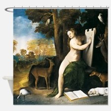 Dosso Dossi Circe and her Lovers Shower Curtain