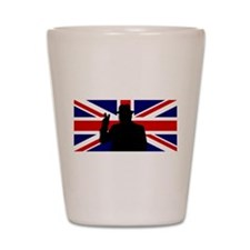Winston Churchill Victory Shot Glass