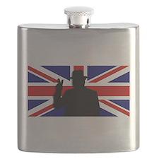 Winston Churchill Victory Flask